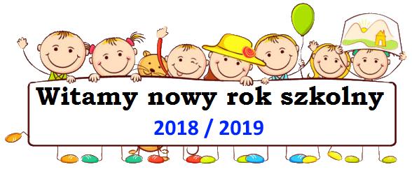 Znalezione obrazy dla zapytania rok szkolny 2018 19